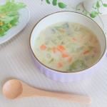 野菜たっぷり☆みそ風味の豆乳スープ