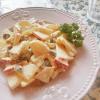 豆腐マヨネーズを使ったレシピ♪りんごとレーズンのデリ風☆ポテトサラダ